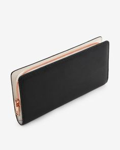 Color block matinee wallet - Black | Wallets | Ted Baker