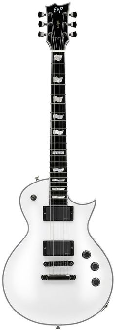 ESP Eclipse II Electric Guitar White