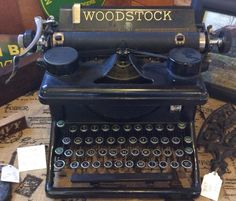 Woodstock Typewriter- Vintage/Antique