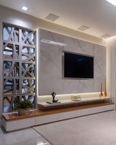 K in 2019 tv wall design, tv wall decor, tv decor. Tv Wall Design, House Design, Cottage Design, Tv Cabinet Design Modern, Hall Design, Kitchen Wall Panels, Modern Tv Wall Units, Modern Tv Room, Tv Console Modern