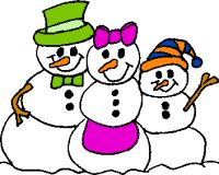 free cute clipart snowman clipart snowmen and snowflakes rh pinterest co uk snowman family clipart free