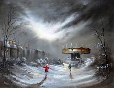 Bob Barker Art : One Magic Night Surrealism Photography, Urban Life, Vincent Van Gogh, Photo Manipulation, Art Paintings, Digital Illustration, Illustrators, Photo Art, Artworks