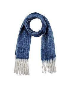 ERFURT Women's Oblong scarf Blue -- --