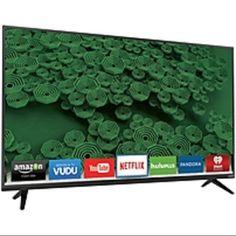 Vizio D58U-D3 58-inch 4K Ultra HD LED Smart TV - 3840 x 2160 - (Refurbished) Price