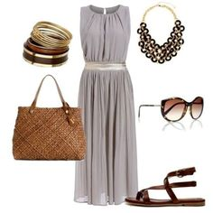 Sleeveless Hollow Back Pleated Dress | You can find this at => http://feedproxy.google.com/~r/amazingoutfits/~3/-ow74ovshaw/photo.php