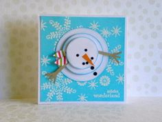 Tarjetas navideñas | Aprender manualidades es facilisimo.com Pop Up Christmas Cards, Homemade Christmas Cards, Christmas Gift Wrapping, Kids Christmas, Xmas Party, Winter Cards, Book Crafts, Holiday Crafts, Tapas