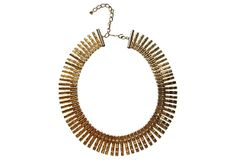 Cleopatra-Style Collar Necklace on OneKingsLane.com from Maxwell's 9.13.34.  Sold!