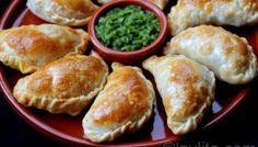 Empanadas de champiñones y queso