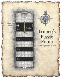 Trimeg's Puzzle Room