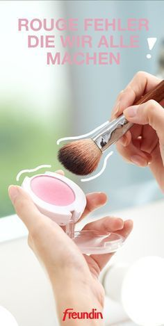 When using blush on a daily basis, mistakes often occur that we do not notice. We'll show you what to look out for Informations About Diese 5 Rouge-Fehler machen wir alle freundin.de, and more.de, and more. Highlighter Makeup, Contour Makeup, Makeup Tricks, Beauty Make Up, Beauty Care, Beauty Tutorials, Beauty Hacks, Younique, Summer Makeup Looks