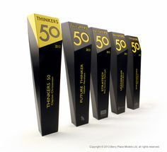 Thinkers 50 Trophies Cast polyurethane resin awards. By Berry Place