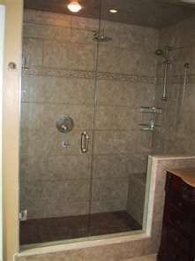 Bathroom Designs With Stand Up Shower custom tile stand up shower | milback construction | pinterest