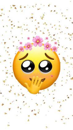 Emoji Wallpaper Iphone, Cute Emoji Wallpaper, Sad Wallpaper, Funny Emoticons, Smiley Emoji, Angel And Devil, Mood Pics, Funny Faces, Cute Wallpapers