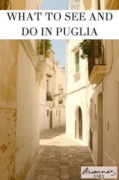 If you're looking for the best travel guide on what to see and do in Puglia, Italy look no further. Click through for a great tour of gallipoli and Santa Maria di Leuca. Perfect for your next Italian holiday #travelblogger #puglia #italytravelguide #itali
