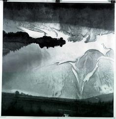Gao Xingjian. <em>Rain of A Beautiful Day</em>, 144.5 x 139.5 cm, 2005. Private collection.