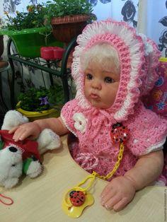 Купить Кукла реборн Катюшка - тёмно-фиолетовый, прекрасный подарок, на все…