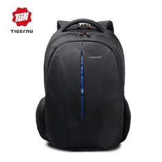 Tigernu Nylon Black Backpack Waterproof 15.6 Inch Laptop 2017