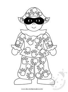 Idea da tenere presente come cartellone per il Carnevale. Arlecchino le cui toppe colorate sono realizzare con le sagome delle mani dei bambini. LAVORETTI Mardi Gras, Diy And Crafts, Crafts For Kids, Needlework, Minnie Mouse, Disney Characters, Fictional Characters, Carnival, Snoopy
