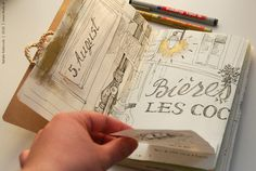 Diário de viagem de Paris feito por Natalie Ratkovski. Puro amor ♥