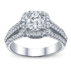 Simon G MR1904 Engagement Ring- Genesis Diamonds
