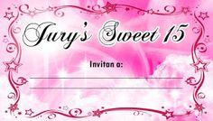 Tarjeta de Invitados para 15 Años Fucsia con Estrellas #15anos #quinceanera #sweet15 #rsvp