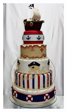 arte da ka - birthday - birthday cake - pirate cake