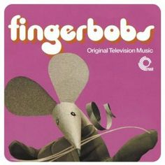 Vintage Toys fingerbobs - beautiful design for trunk records' issue of music from the vintage children's tv series Retro Kids, 80s Kids, Kids Tv, 1980s Childhood, My Childhood Memories, Sweet Memories, Kids Shows, Old Toys, Vintage Children