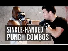 MMA Punch Training - One-handed Punch Combos diet workout jiu jitsu Muay Thai Techniques, Boxing Techniques, Martial Arts Techniques, Self Defense Techniques, Boxer Workout, Mma Workout, Muay Thai Training, Boxing Training, Jiu Jitsu