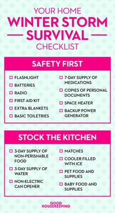 Pin our checklist on Pinterest to reference later — and don't forget to follow @goodhousemag!   - CountryLiving.com