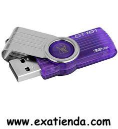 Ya disponible Memoria USB 2.0 Kingston 32gb dt101g2/32gb   (por sólo 25.95 € IVA incluído):   -Capacidad: 32GB -Interface: USB 2.0 -Velocidad lectura: 10MB/se -Velocidad escritura: 5MB/sec. -Otros:--   -P/N: DT101G2/32GB Garantía de 24 meses.  http://www.exabyteinformatica.com/tienda/1073-memoria-usb-2-0-kingston-32gb-dt101g2-32gb #memoria #exabyteinformatica