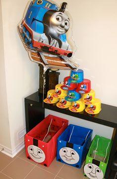 thomas the train birthday party & Thomas the Train Birthday Party Ideas | Birthday party ideas ...