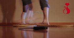 Lavoro di espressione corporea e improvvisazione con oggetti: corda e coltello.