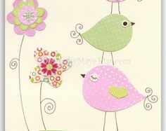birds themes for baby room - Google Search