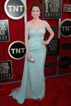 2013 Screen Actors Guild Awards Red Carpet-Ellie Kemper