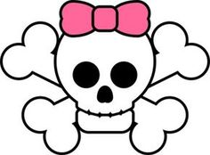 Love the girly skull & crossbones. Girls Pirate Parties, Pirate Party, Pirate Theme, Cute Skeleton, Crochet Skull, Girl Pirates, Girl Skull, Glitter Text, Witches