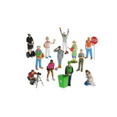 Expand the career figurine set with these 12 career figures. This set includes: a police officer, farmer, ice cream server and more. Play Therapy Training, Community Workers, Sand Play, Career Exploration, Small World Play, Fun Arts And Crafts, Art Therapy Activities, Career Counseling, Penne