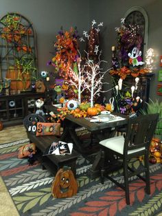Halloween Setting From Trees N Trends
