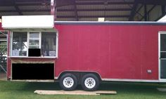 1993 8x24 Wells Cargo: 7/18/2012 (Chicago, Illinois) - Well kept 1993 8x24 Wells Cargo concession trailer for sale.  $9,000.  Counters and cabinets, 3 sets of windows, 3 compartment
