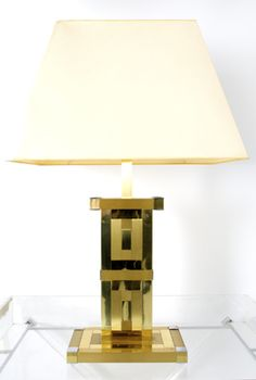 Willy Rizzo table light for Lumica,