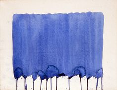 Yves Klein Monochrome Bleu - sans titre