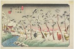 渓斉英泉: No.15 Itahana - ミネアポリス美術館