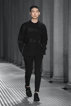 maisonobscurite:  lvnvlae:  Neil Barrett S/S15 // Kim Sang Woo  Follow Overdeauxis/Maison Obscurite,the new blog after been deleted!