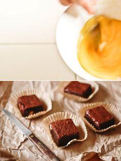 Amazing Chocolate Brownies: gluten free, using almond meal and dark muscovado sugar