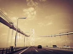 明石大橋。