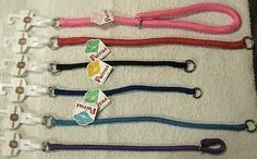 Nylon dog choker collar Poppies by Hamilton Products multiple colors, and sizes
