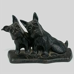 Scottie dog doorstop :)
