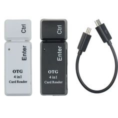 hot selling OTG 4 In 1 Smart Card Reader USB2.0 Micro USB For Smart Phone Computer easy for carry very nice