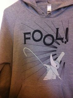 Soul eater -Excalibur Sweater    -FOOL!-  lol I got this for my birthday last year