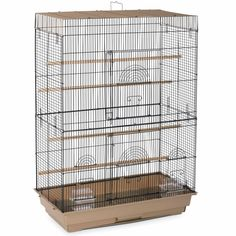 Prevue Pet Products Flight Bird Cage is designed to house multiple parakeets, canaries or finch. Featuring two large front doors, our Flight Cage. Cute Birds, Small Birds, Flight Cage, Parakeet Cage, Bird Cages For Sale, Bird Cage Stand, Bird House Kits, Bird Aviary, Cockatiel