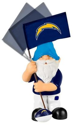 San Diego Chargers Garden Gnome - Springy Flag Z157-8784955808